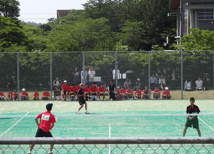 ソフトテニス部大会